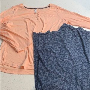 Gilligan & O'Malley pajamas